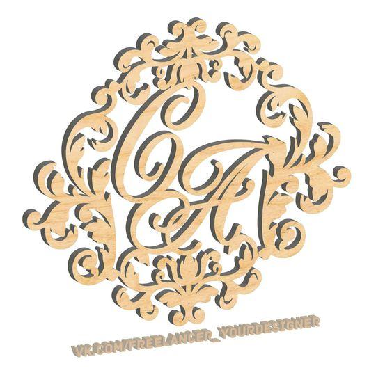 Иллюстрации ручной работы. Ярмарка Мастеров - ручная работа. Купить Векторные макеты для фрезерных и лазерных станков с ЧПУ. Handmade. Отрисовка