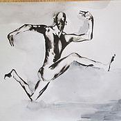 Картины и панно ручной работы. Ярмарка Мастеров - ручная работа картина 10 Балет- любовь моя. Handmade.