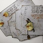 Для дома и интерьера ручной работы. Ярмарка Мастеров - ручная работа Ключница Старый отель. Handmade.