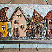 Для дома и интерьера handmade. Livemaster - original item Housekeeper Sun City. decor polymer clay.. Handmade.