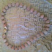 Украшения ручной работы. Ярмарка Мастеров - ручная работа бусы с розовым кварцем. Handmade.