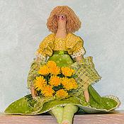 Куклы и игрушки ручной работы. Ярмарка Мастеров - ручная работа Кукла Тильда Одуванчик. Handmade.