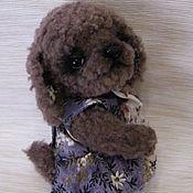 Куклы и игрушки ручной работы. Ярмарка Мастеров - ручная работа собачка тедди Тамара. Handmade.