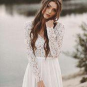 Платья ручной работы. Ярмарка Мастеров - ручная работа Свадебное платье по вашим меркам. Handmade.