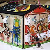 Бизиборды ручной работы. Ярмарка Мастеров - ручная работа Бизиборды: мини ферма. Handmade.