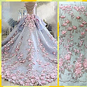 Материалы для творчества handmade. Livemaster - original item Beautiful wedding 3D lace, Amelia. Handmade.