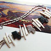 Украшения handmade. Livemaster - original item Necklace-tie