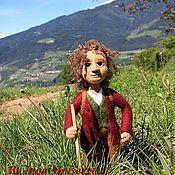 Куклы и игрушки ручной работы. Ярмарка Мастеров - ручная работа Кукла войлочная Бильбо.. Handmade.