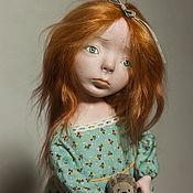 Куклы и игрушки ручной работы. Ярмарка Мастеров - ручная работа Грустная девочка Натешенька. Handmade.