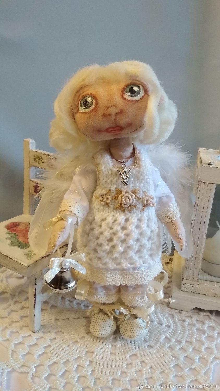 Маленький Ангел. Авторская текстильная интерьерная кукла, Куклы и пупсы, Челябинск,  Фото №1