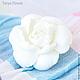 Свадебные украшения ручной работы. Шпильки с белой гарденией. Tanya Flower. Интернет-магазин Ярмарка Мастеров. Заколка для волос, клей