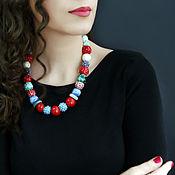 handmade. Livemaster - original item Beads made of ceramics. ceramic beads.. Handmade.