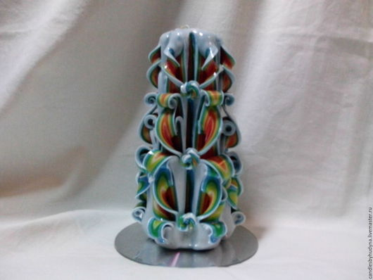 Свечи ручной работы. Ярмарка Мастеров - ручная работа. Купить Резная свеча. Handmade. Комбинированный, свеча, свечи ручной работы