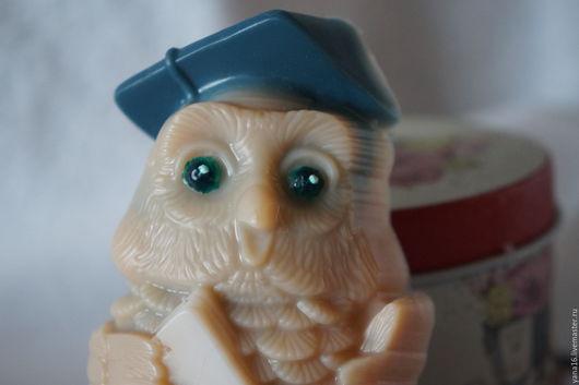 """Мыло ручной работы. Ярмарка Мастеров - ручная работа. Купить Мыло ручной работы """"Мудрая сова"""" (в ассортименте). Handmade."""