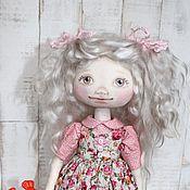 Куклы и игрушки ручной работы. Ярмарка Мастеров - ручная работа Текстильная интерьерная кукла Галочка. Handmade.