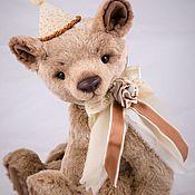 Мишки Тедди ручной работы. Ярмарка Мастеров - ручная работа Тедди мишка Монти. Handmade.