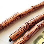 Материалы для творчества handmade. Livemaster - original item Beads Palm tree tube. Handmade.