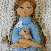 Куклы и игрушки ручной работы. Ярмарка Мастеров - ручная работа Текстильная кукла Лола. Handmade.