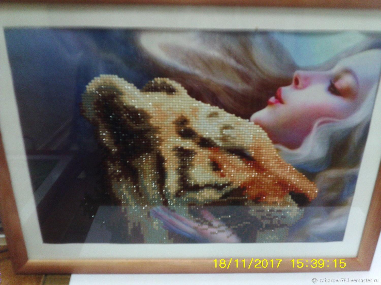Девушка со львом, Картины, Горнозаводск, Фото №1