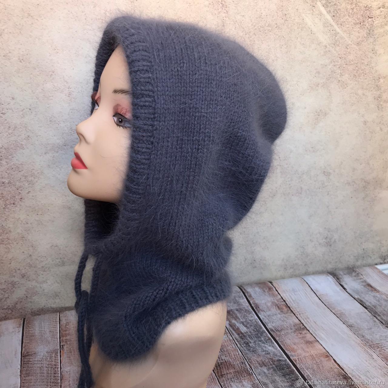 The hood (bonnet) from the wool of mink, Hood, Krasnodar,  Фото №1