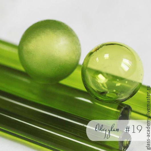 Для украшений ручной работы. Ярмарка Мастеров - ручная работа. Купить стекло #19 - Green Grass (Трава) для lampwork Odry glass coe 104. Handmade.