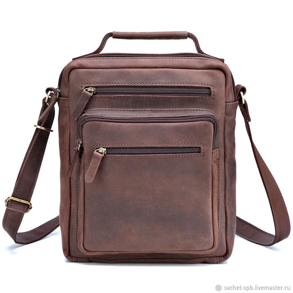 954c88471709 Мужские сумки ручной работы. Ярмарка Мастеров - ручная работа. Купить  Кожаная сумка