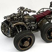 Куклы и игрушки ручной работы. Ярмарка Мастеров - ручная работа Квадроцикл. Handmade.
