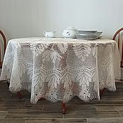 Для дома и интерьера handmade. Livemaster - original item The tablecloth