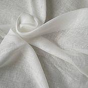 Материалы для творчества handmade. Livemaster - original item Linen. easy .white veil style. Handmade.