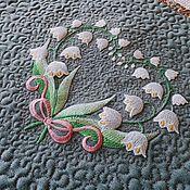 Для дома и интерьера handmade. Livemaster - original item Landmat A Wreath Of Lilies Of The Valley. Handmade.