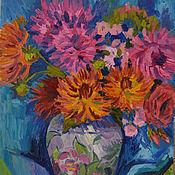 Картины и панно handmade. Livemaster - original item Autumn bouquet. Handmade.