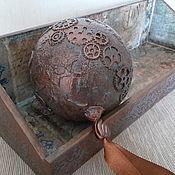 Подарки к праздникам handmade. Livemaster - original item Ball Novogodniy
