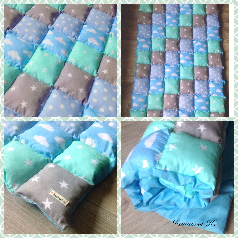 Как сшить пэчворк одеяло бонбон