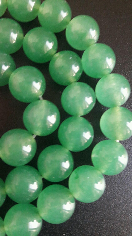 Кварц зеленый.Гладкий шар 10 мм, Бусины, Москва,  Фото №1