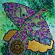 Животные ручной работы. Ярмарка Мастеров - ручная работа. Купить Птица дождя. Handmade. Комбинированный, золотой, дождь, небо, крылья
