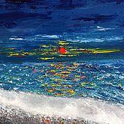 Картины и панно handmade. Livemaster - original item Seascape oil. Handmade.