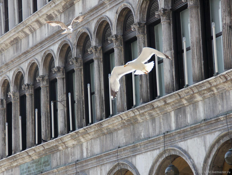 Lu. `Площадь Сан Марко`, Авторская фотокартина, Венеция, 2018 г.