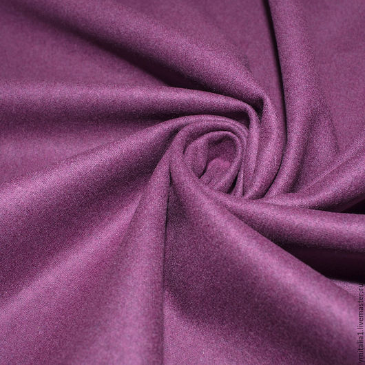 Шитье ручной работы. Ярмарка Мастеров - ручная работа. Купить Шерсть с кашемиром MARINA RINALDI фиолетовая. Handmade. Голубой