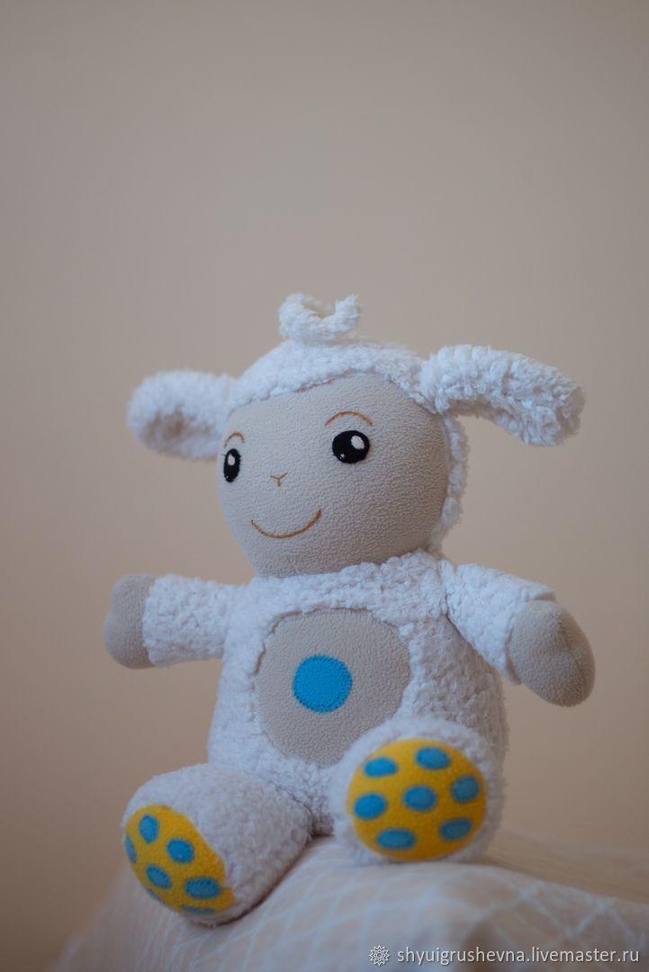 Развивающие игрушки ручной работы. Ярмарка Мастеров - ручная работа. Купить Овечка Тини лав с песенками, игрушки из мультфильма Tiny Love купить. Handmade.
