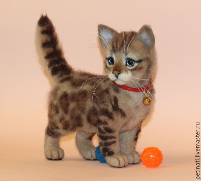 cat Bengal 'Shani'(see the status before you order), Toys, Moscow, Фото №1