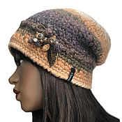 handmade. Livemaster - original item Binny Viard`s hat. Handmade.