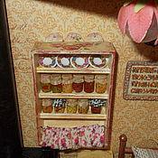 Мини фигурки и статуэтки ручной работы. Ярмарка Мастеров - ручная работа Еда для кукол, баночки с домашними заготовками, масштаб 1:12. Handmade.