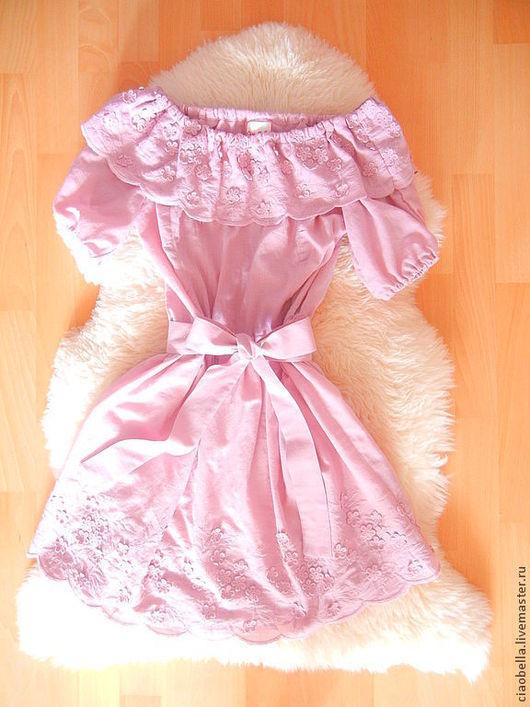 """Платья ручной работы. Ярмарка Мастеров - ручная работа. Купить Платье """"Конфетка"""". Handmade. Бледно-розовый, пудровый"""
