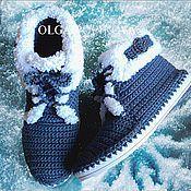 Обувь ручной работы. Ярмарка Мастеров - ручная работа Ботинки (осень-зима). Handmade.