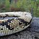 """Колье, бусы ручной работы. Ярмарка Мастеров - ручная работа. Купить Колье-жгут """"Royal Python 2"""". Handmade. Разноцветный"""