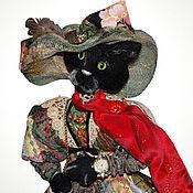 Куклы и игрушки ручной работы. Ярмарка Мастеров - ручная работа Кошка Котильда. Handmade.
