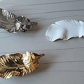 Для дома и интерьера handmade. Livemaster - original item Feathers wall 52 PCs.. Handmade.