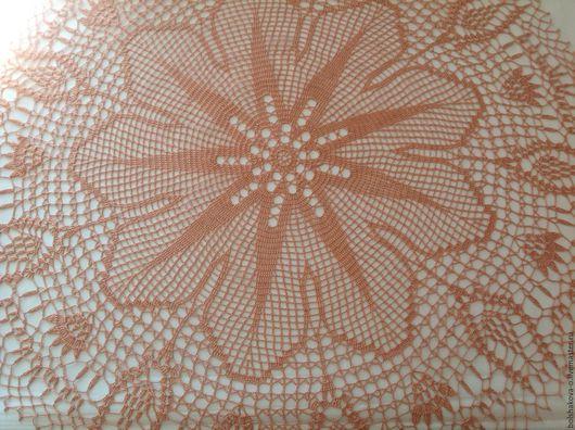 Текстиль, ковры ручной работы. Ярмарка Мастеров - ручная работа. Купить Салфетка цвета пудры. Handmade. Кремовый, красивая салфетка