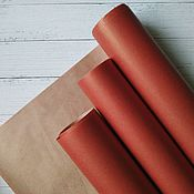 Упаковочная бумага ручной работы. Ярмарка Мастеров - ручная работа Упаковочная бумага: красный. Handmade.