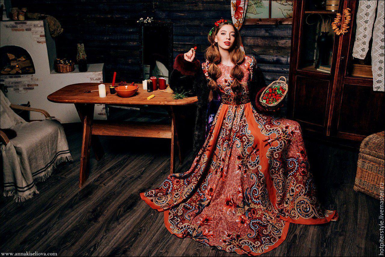 Русские платья доставка